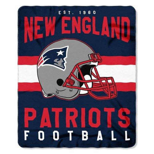 New England Patriots Fuzzy Throw Blanket