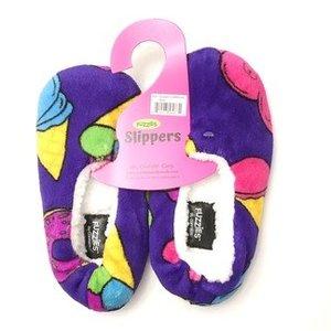Carnival Treats Fuzzy Slippers