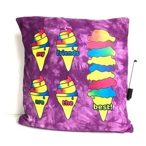 My Friends are the Best Ice Cream Pillow
