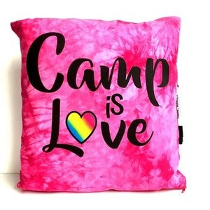 Camp is Love Autograph Pillow