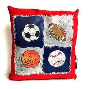 Quad Sports Autograph Pillow