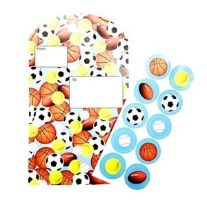 Blocked Sports Balls Fold and Seal