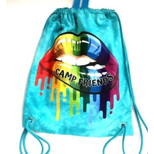 Camp Friends Dripping Lips Sling Bag