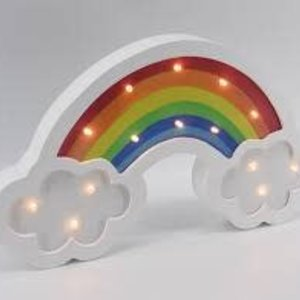 Rainbow and Clouds Light Box