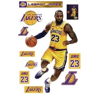Lebron Lakers Fathead