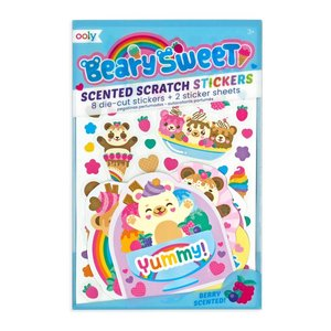 Beary Sweet Smelly Sickers