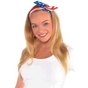 Flag Bow Headband