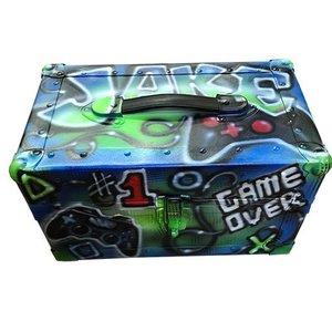 Airbrushed Gamer Mini Trunk