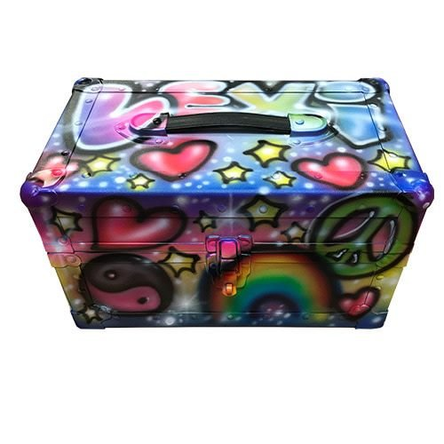 Airbrushed Graffiti Mini Trunk