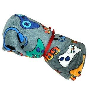 Grey Gamer Blanket