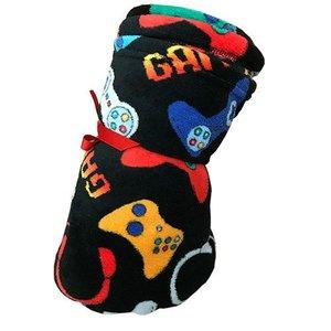 Black Gamer Blanket