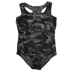 Black Camo Bathing Suit