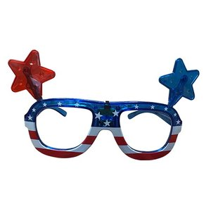 Light Up July 4th Glasses