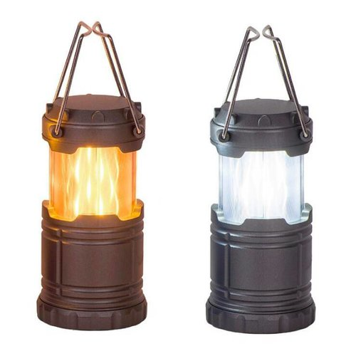 Pop Up Flickering LED Flashlight Lantern