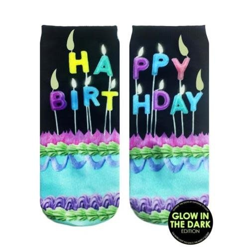 Make A Wish Glow Ankle Sock