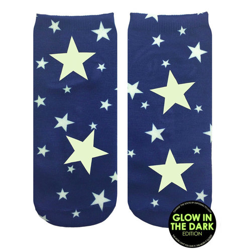Starry Night Glow Ankle Socks