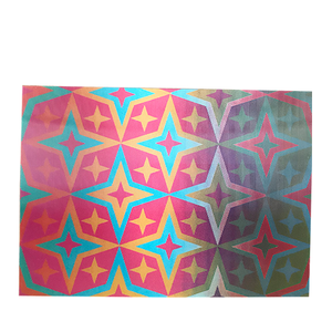 Colorful Diamonds 3-D Postcard