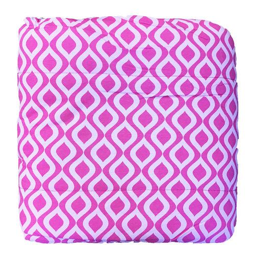 Pink Wave Jersey Comforter