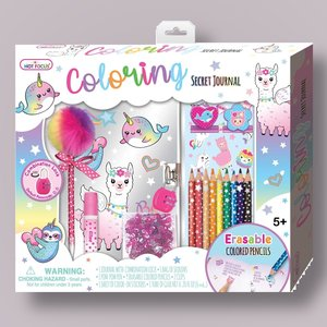 Magical Friends Coloring Secret Journal