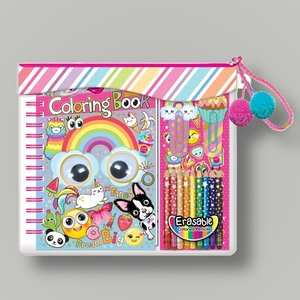 Pop Coloring Book Set