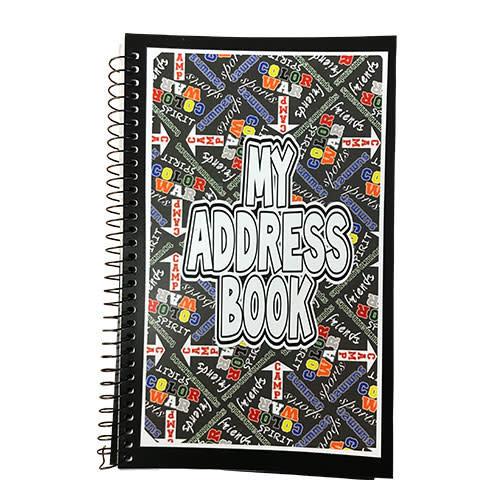 Boys Camp Graffiti Address Book