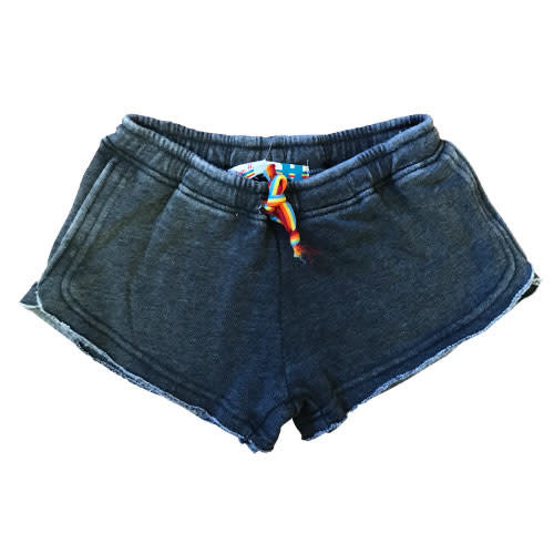 Rainbow Tie Burnout Shorts