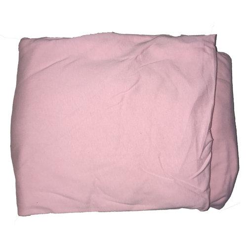 Light Pink 3-Piece Jersey Sheet Set