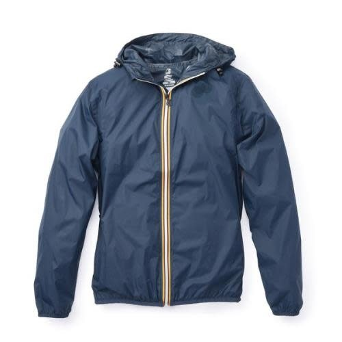 Navy Packable Rain Jacket