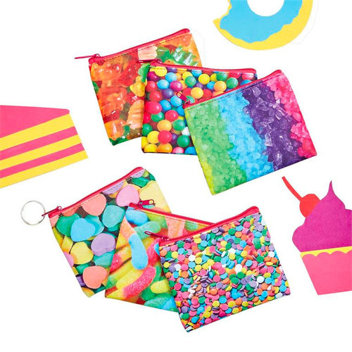 Candy Zip Pouches