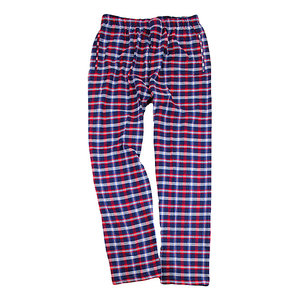 Red and Blue Flannel Pants