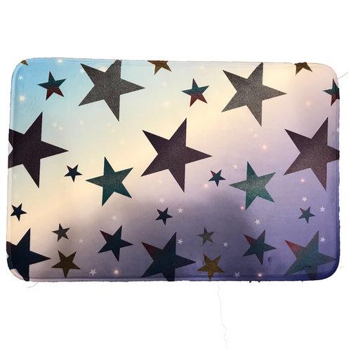 Glitter Stars Mat