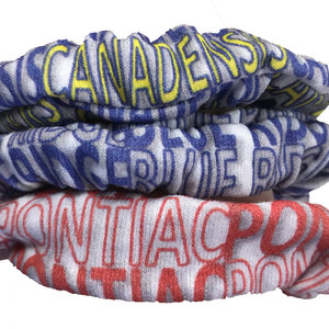 Camp Printed Scrunchie