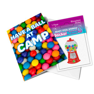Gumballs StickerBean Card