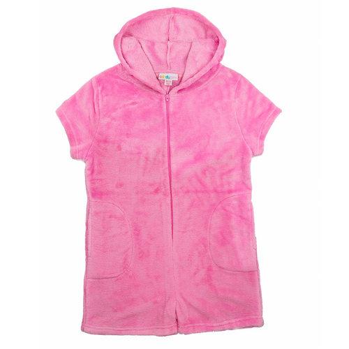 Pink Fuzzy Romper