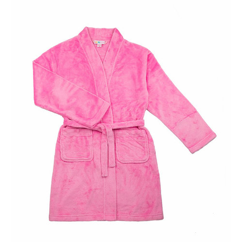 Pink Fuzzy Robe