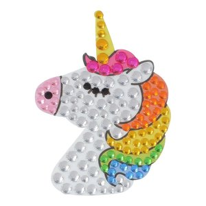 Glitter Unicorn StickerBean