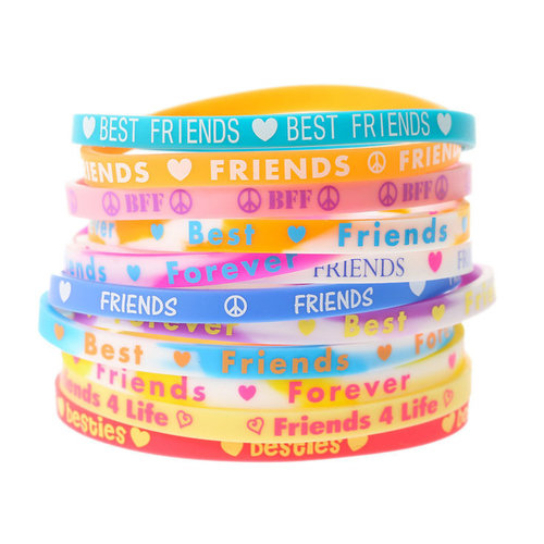 Friends Bracelet Sticker Quote