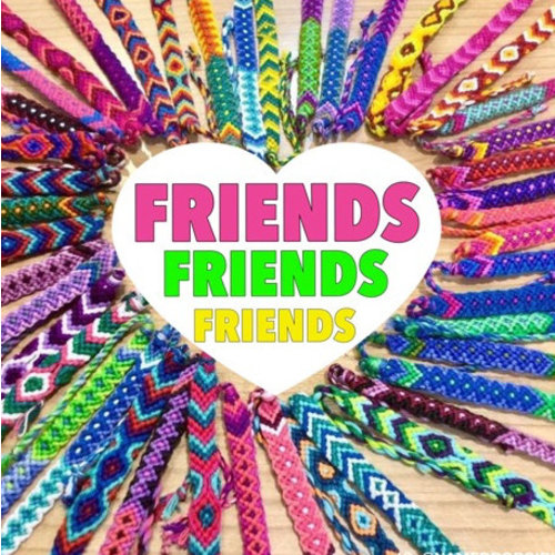 Friends, Friends, Friends Sticker Quote