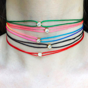 Loop Bead Choker