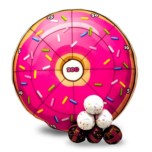 Donut Plush Dart Board