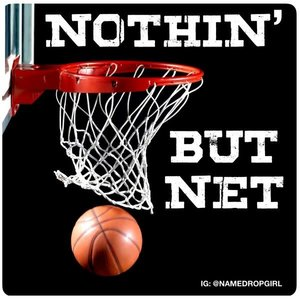 Nothin' But Net Sticker Quote