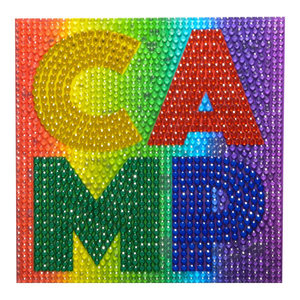 Rainbow Camp Wall StickerBean Decal