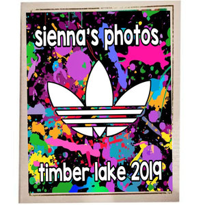 Adidas Splatter Photo Album