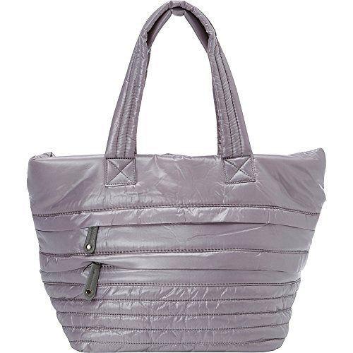 Gray Puffer Bag