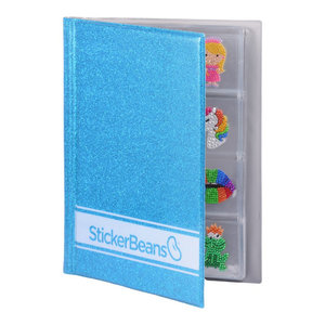 Turquoise (new color!) StickerBean Book
