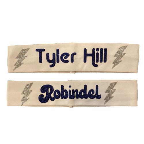 Glitter Bolt Headband