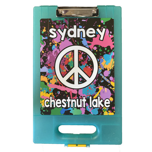 Peace Splatter Clipboard
