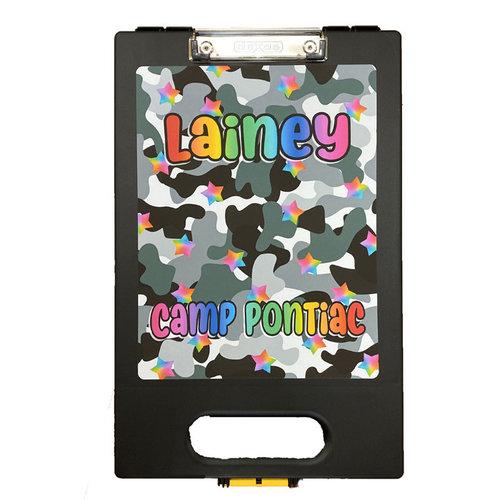 Camo Stars Clipboard