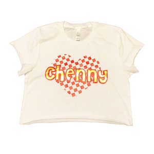 Checkered Heart Shirt