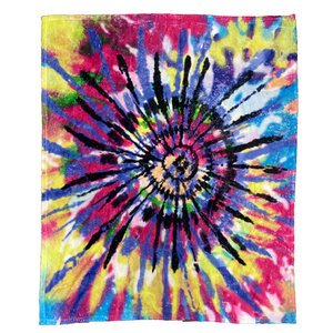 Colorful Tie Dye Blanket